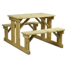 Vanna Newport 6 Seater Picnic Table 140cm